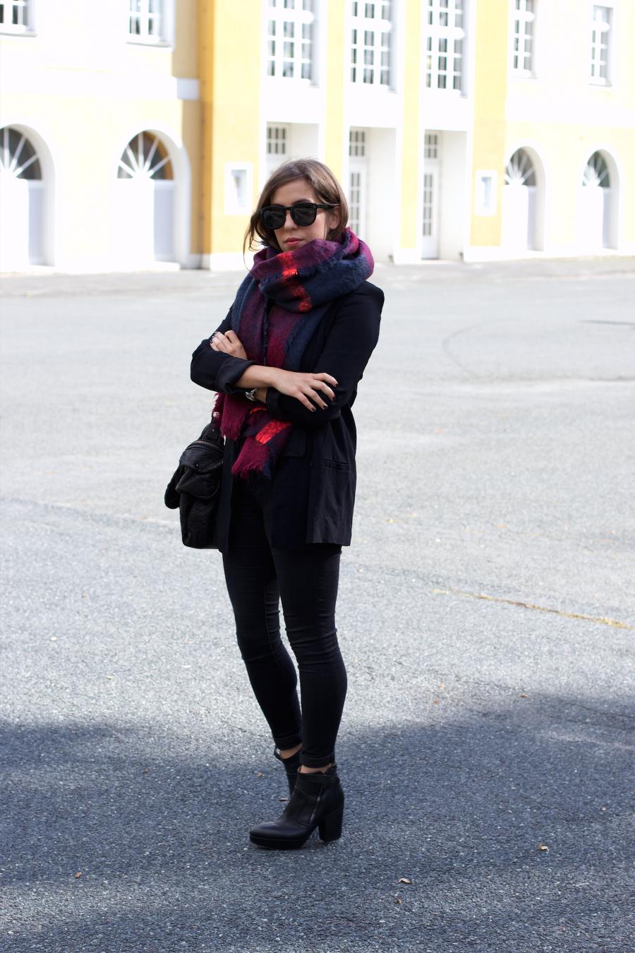 Zara Blanket Scarf Acne Track