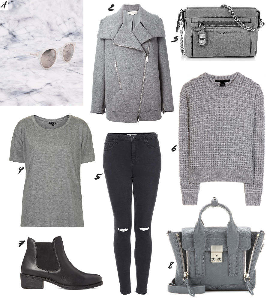 All Grey Outfit Ideas