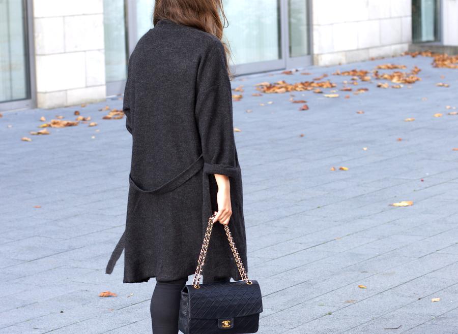 Mango Bathrobe Cardigan Chanel Bag