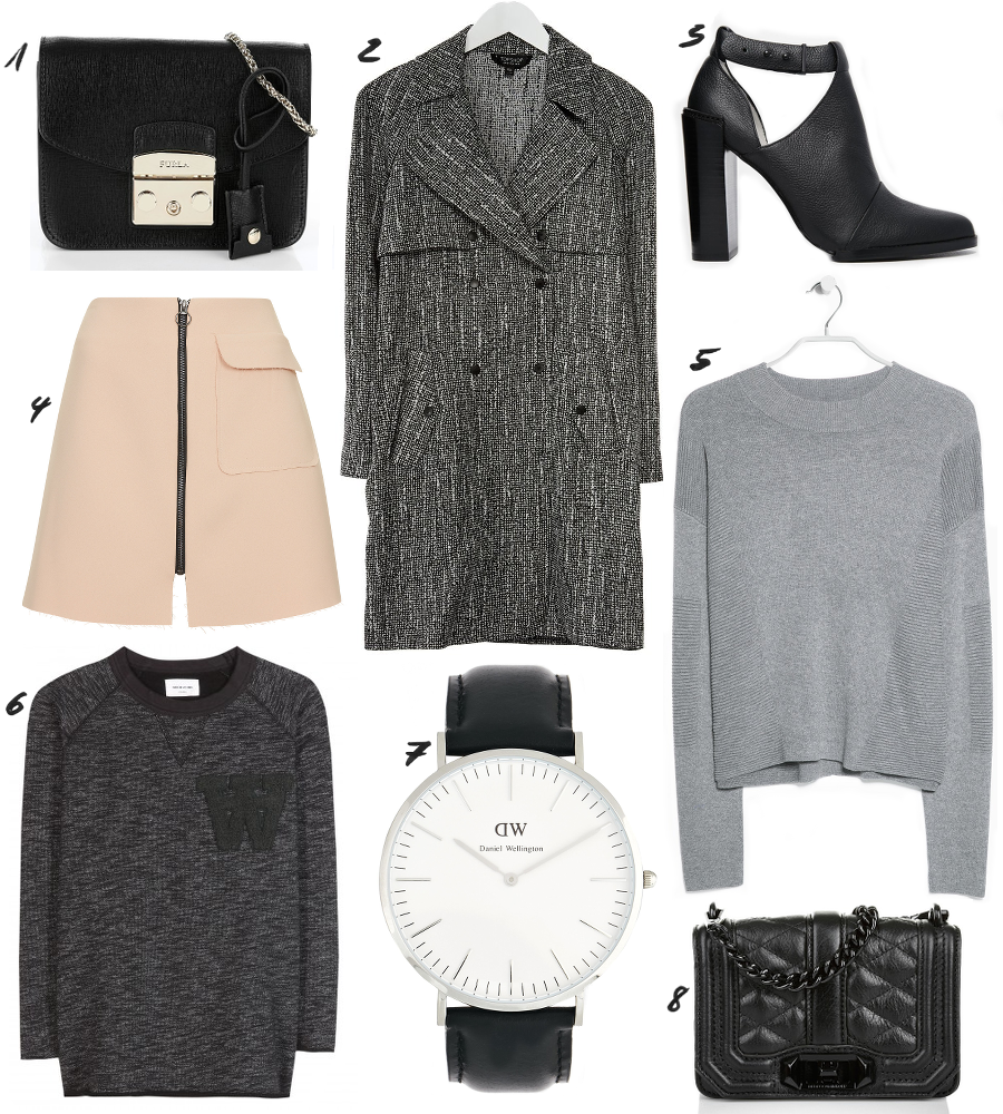 Grey Black Outfit Ideas