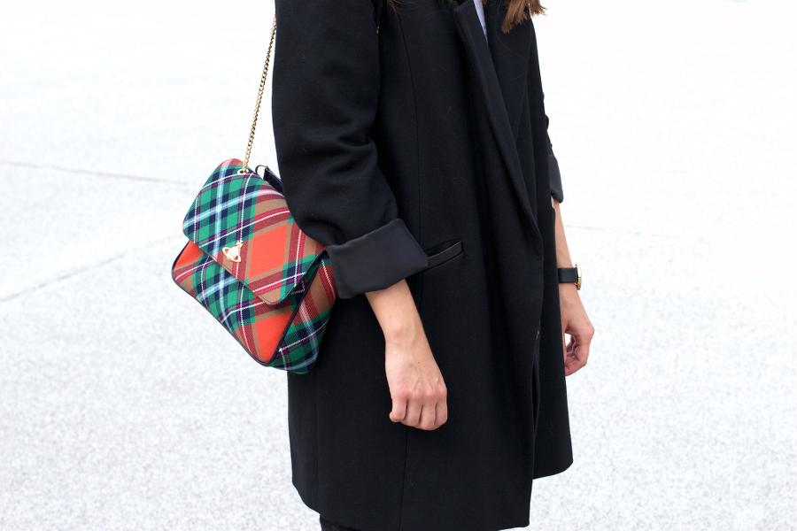 Black Outfit Vivienne Westwood Bag