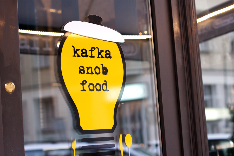 prague kafka snob food