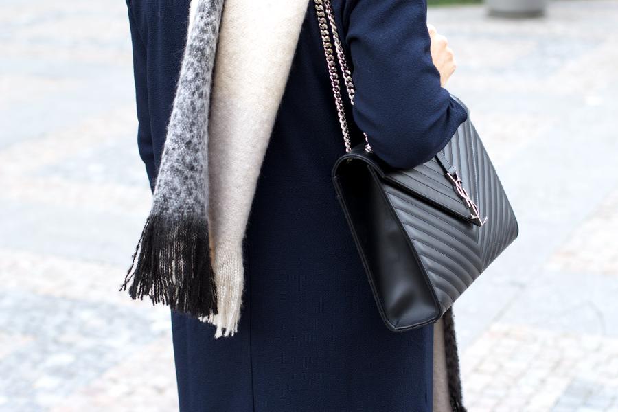 outfit blanket scarf saint laurent