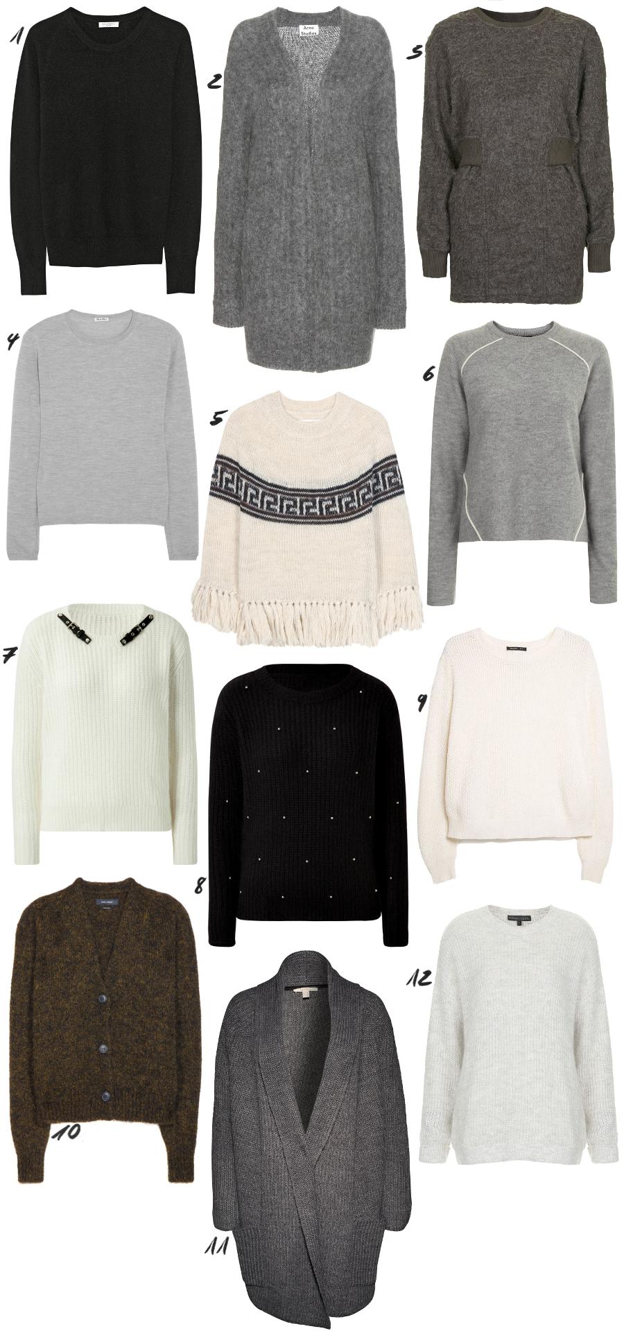 Knit Jumper Cardigan Winter Guide