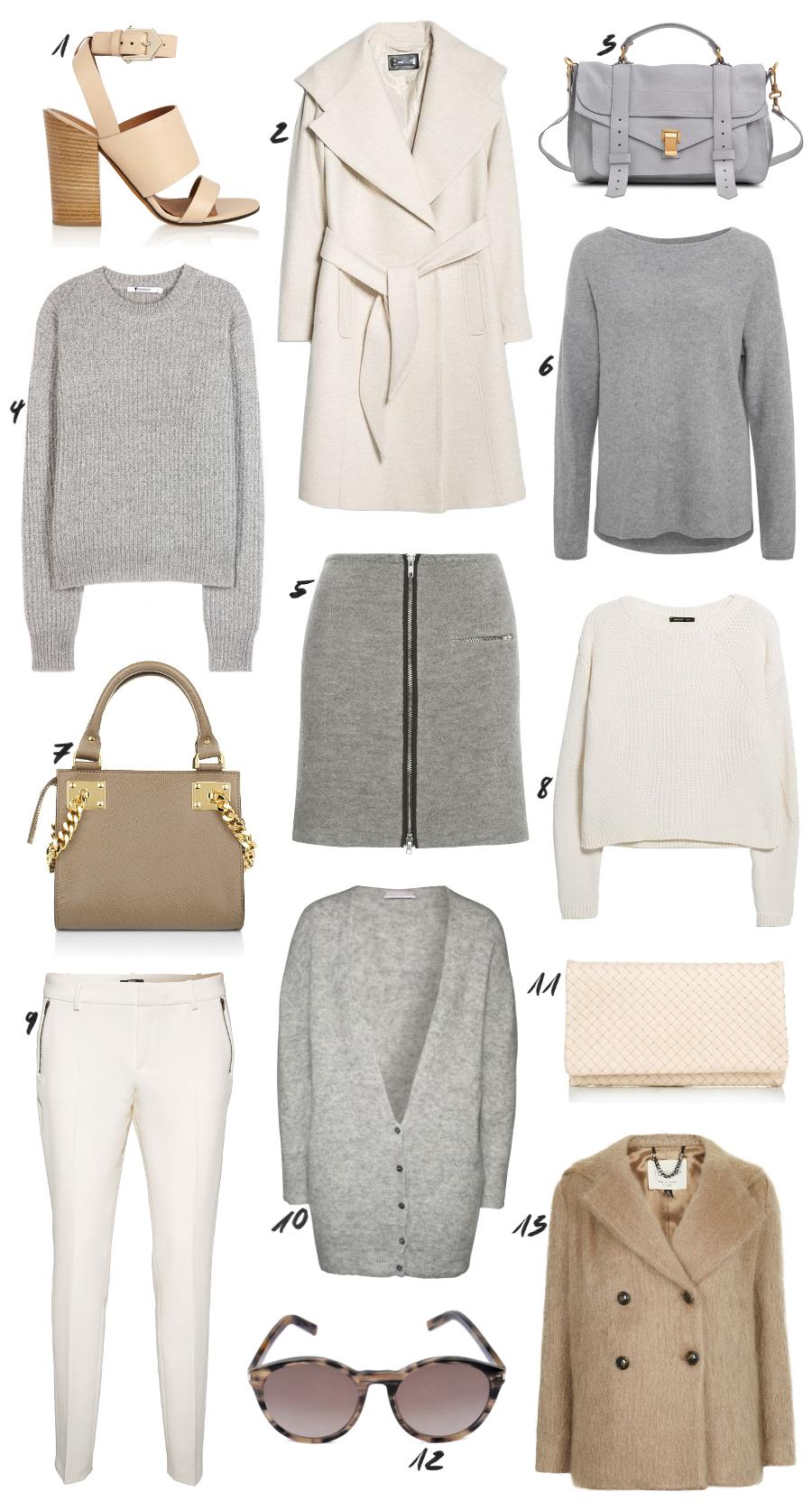 Neutral Clean Outfit Shopping Idea