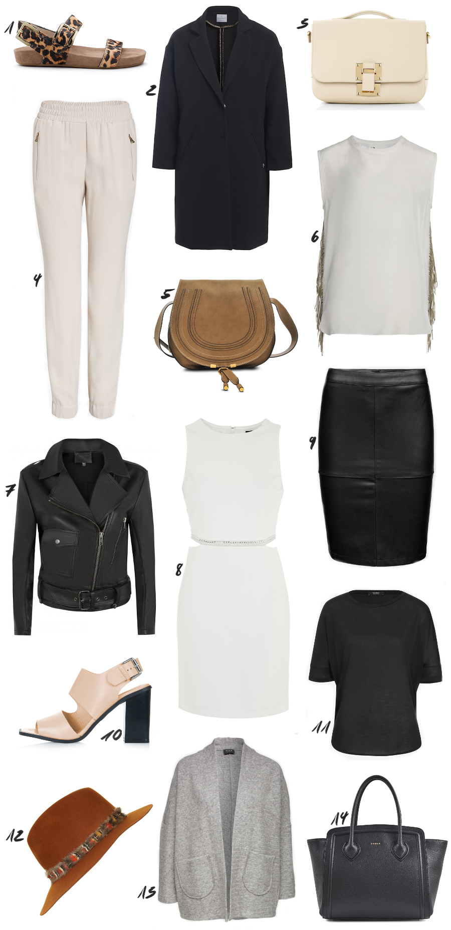 Black and Nude Spring Outfit Ideas