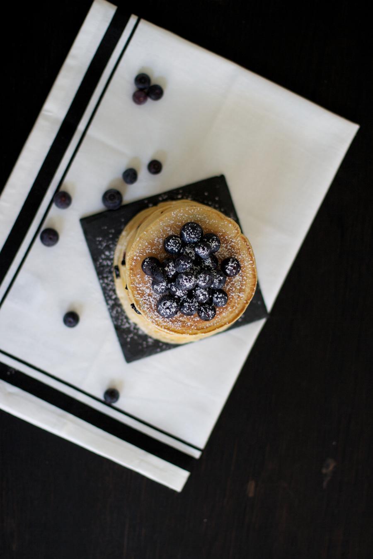Blueberry Pancakes Recipe The Dashing Rider