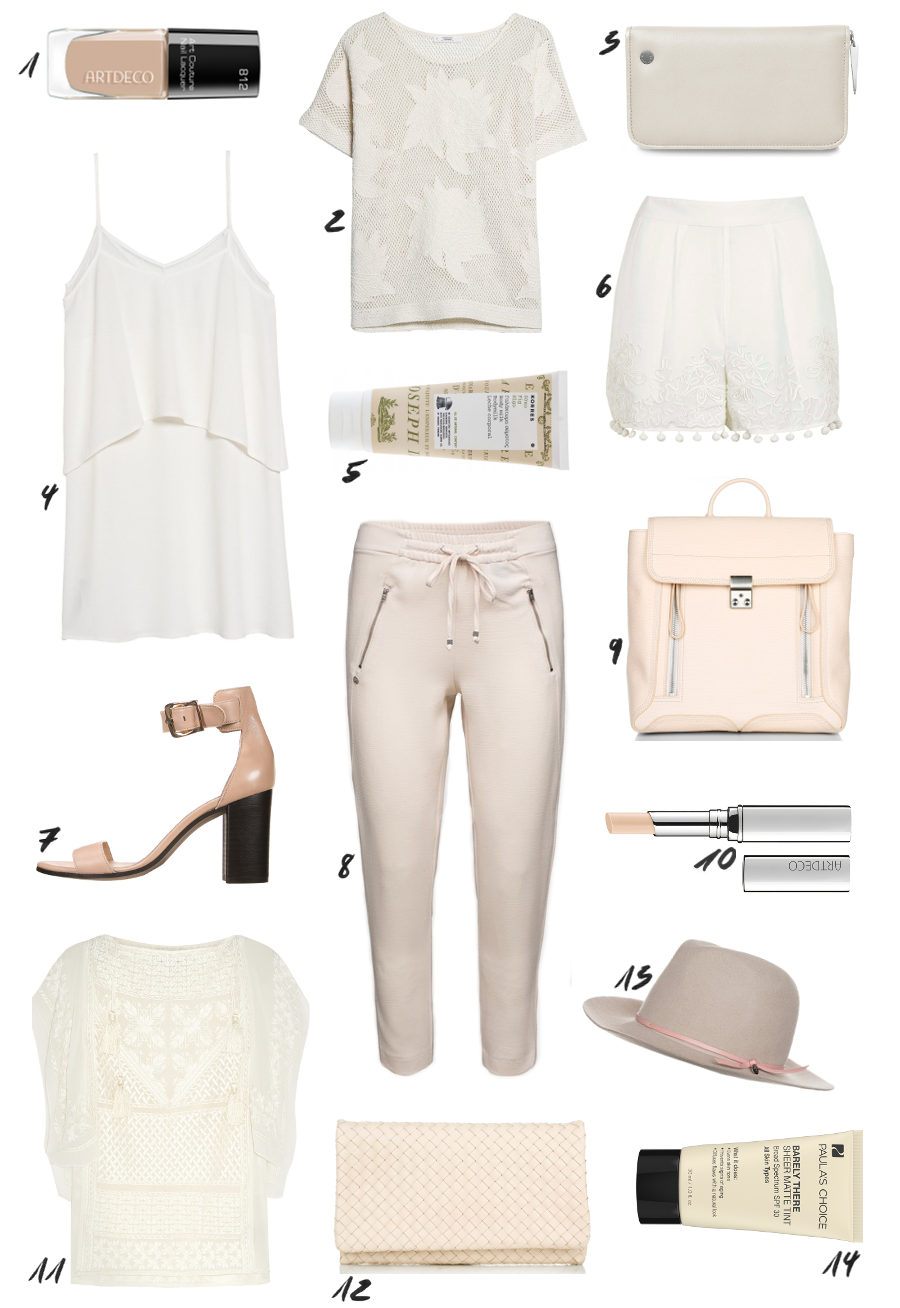 The Dashing Rider Blush Nude Outfit Idea
