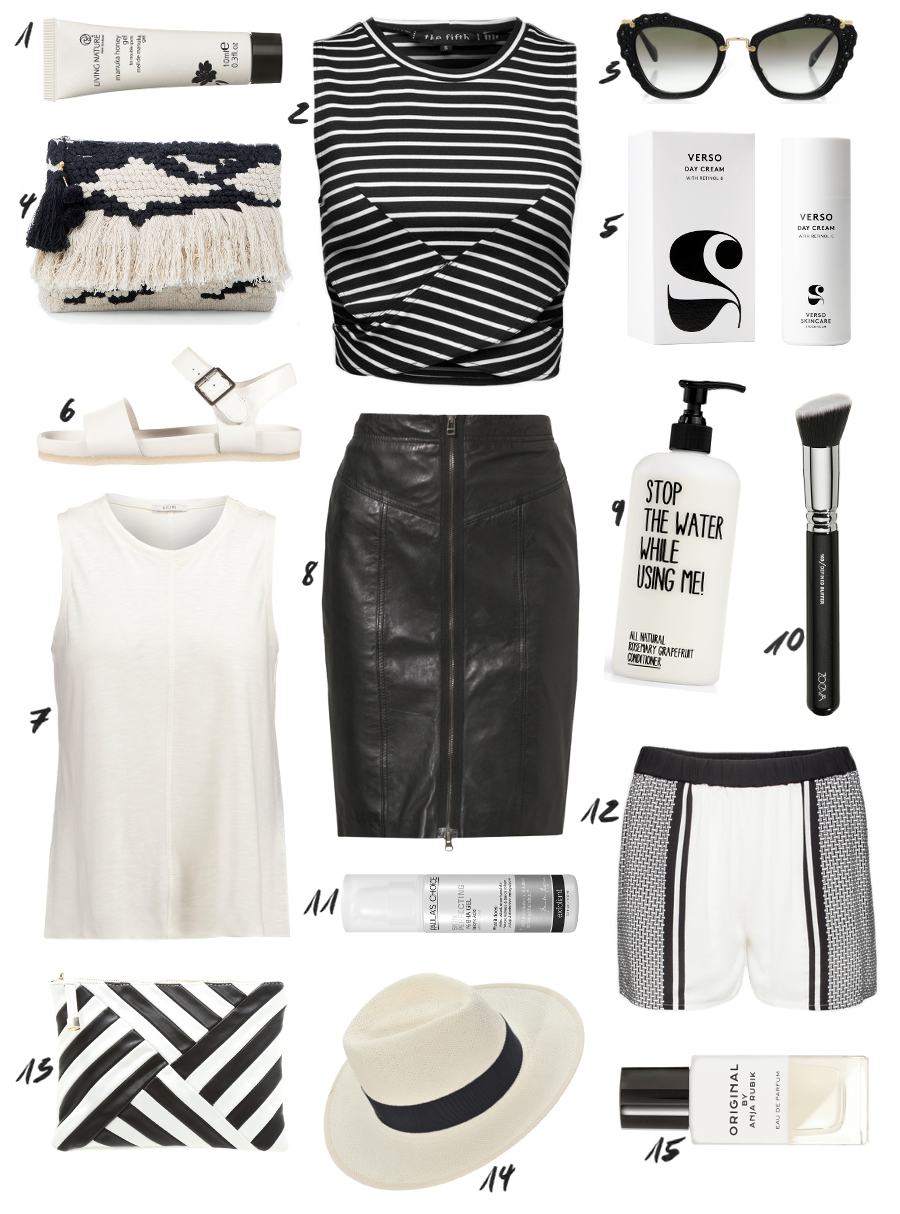The Dashing Rider All Black White Outfit Idea