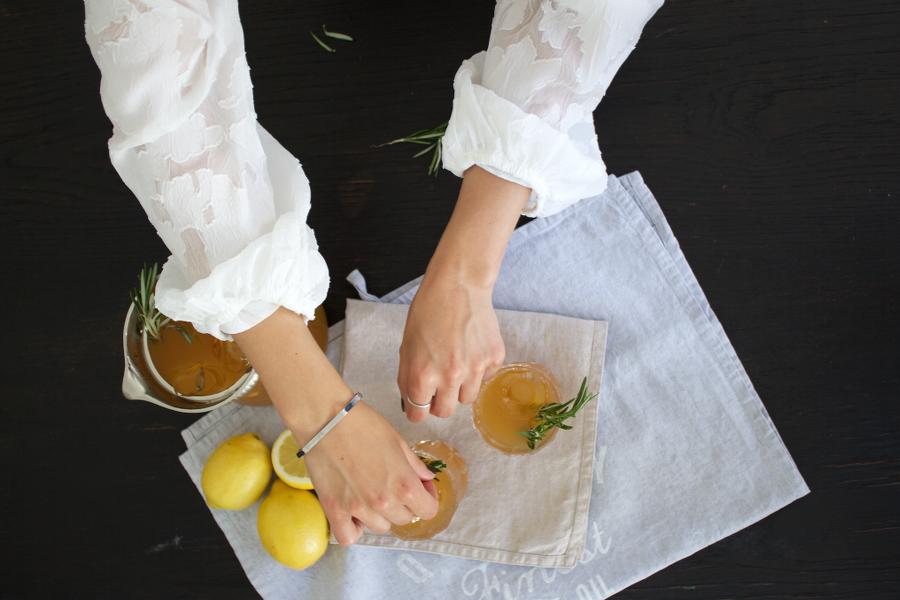 The Dashing Rider Homemade Maracuja Iced Tea Recipe