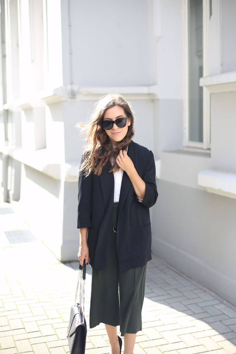 Asos Khaki Culotte Outfit Isabel Marant