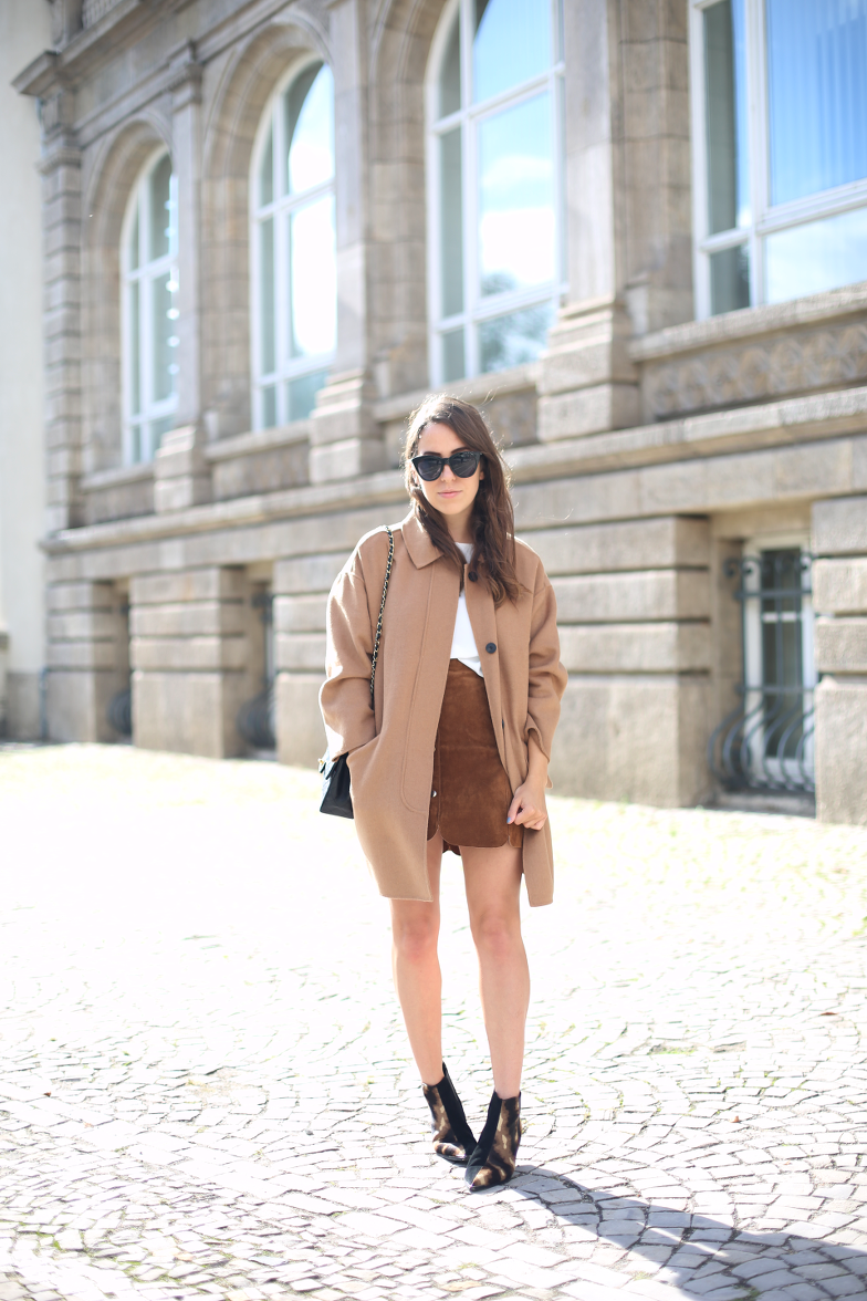 Herbstoutfit Fall Outfit Camel Coat