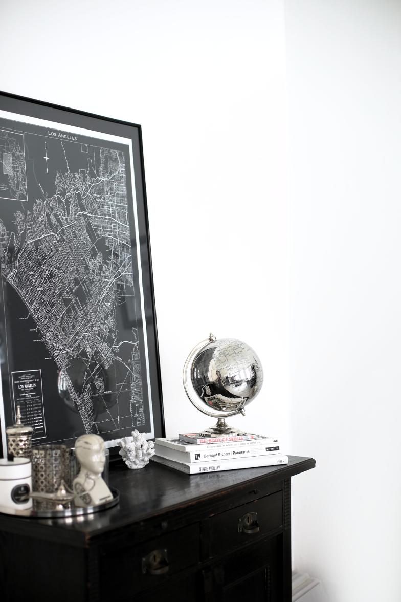 Black and White Interior Home Decor Einrichtung