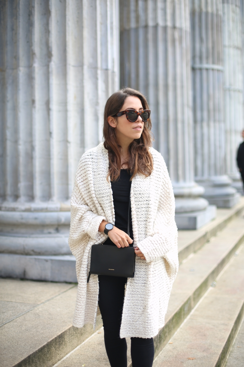 Fall Outfit Oversized Cardigan