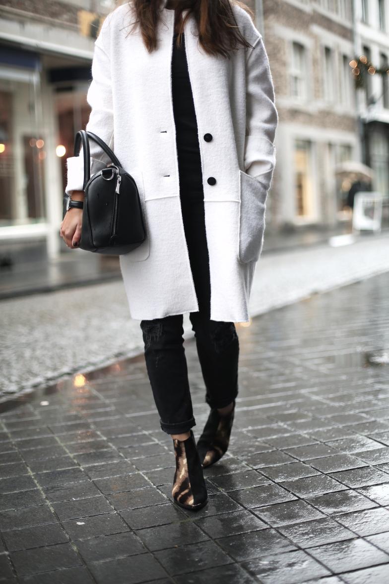 Blush Nude Zara Coat