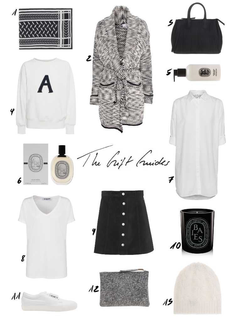 Black and White Christmas Gifts