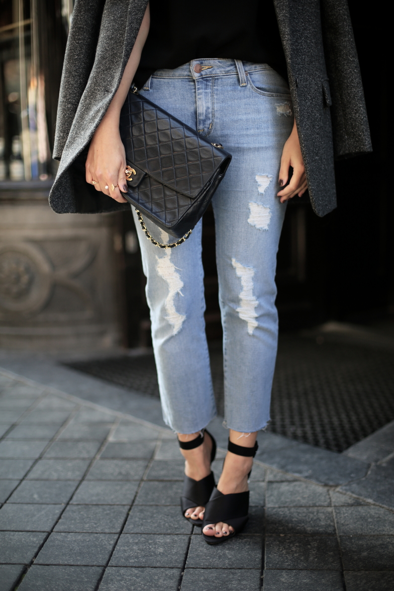 Fall Outfit Travel Maastricht Chanel Bag