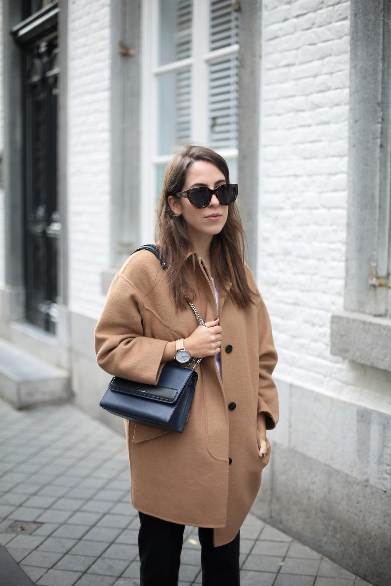 Camel Coat Outfit Isabel Marant Poppy