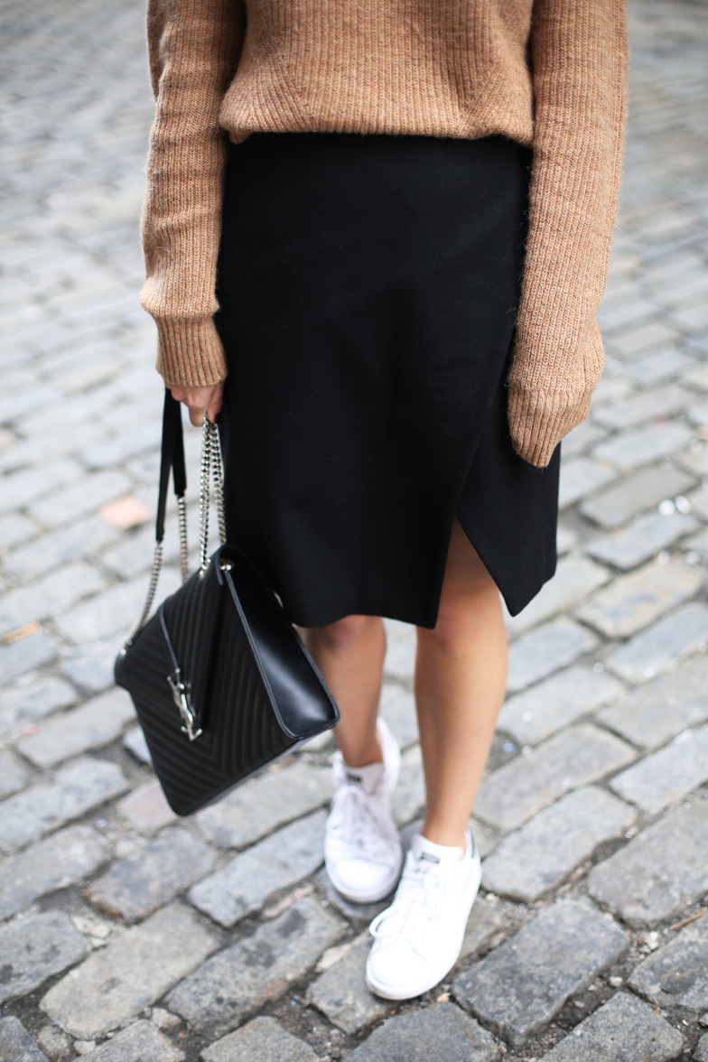 Black Neutral New York Outfit Blog