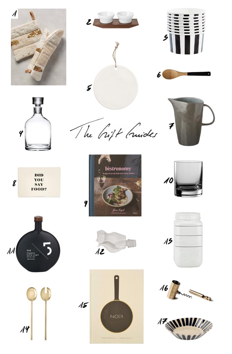 Weihnachtsgeschenke Gift Guide Foodie Gourment