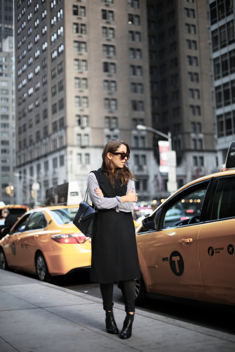 New York Fall Outfit Zara Coat