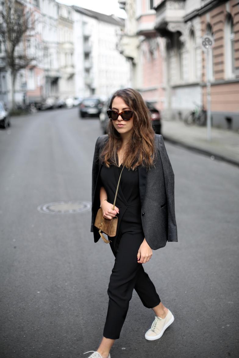 Saint Laurent Bag Brown Suede Cassandre Outfit