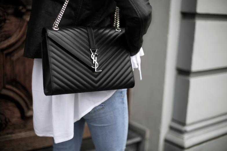 Saint Laurent Bag Spring Outfit
