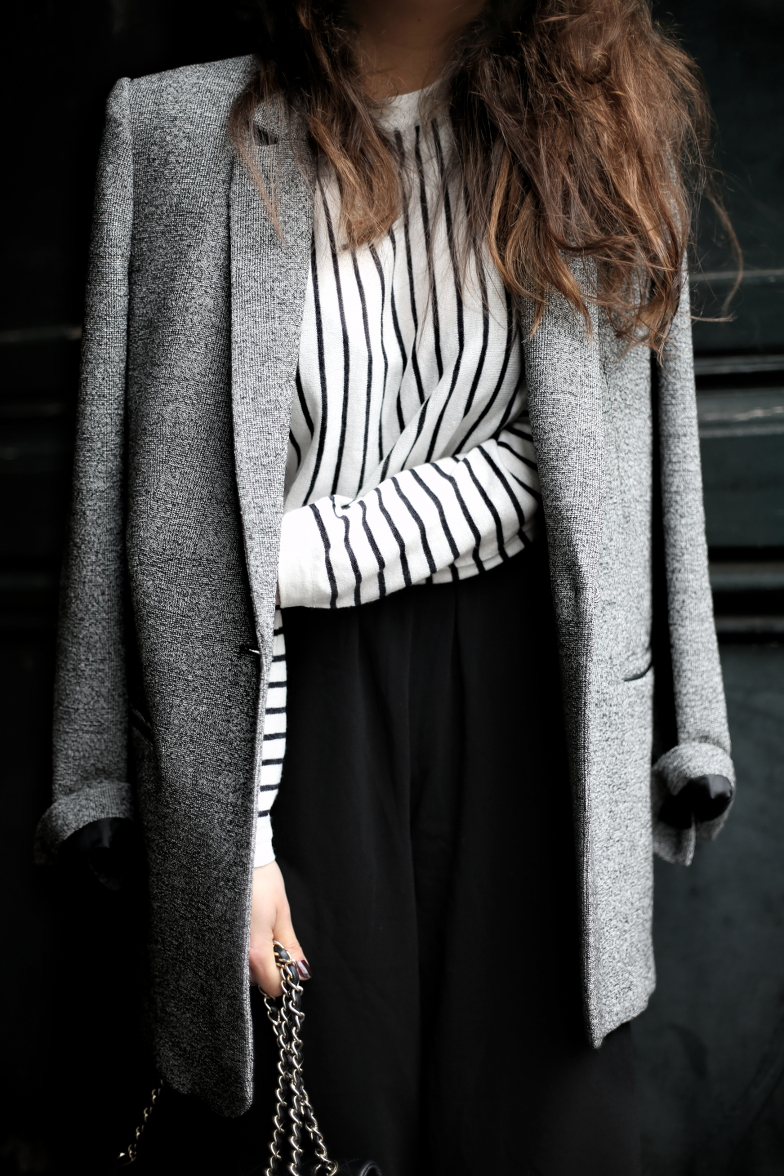 Striped French Inspired Spring Outfit