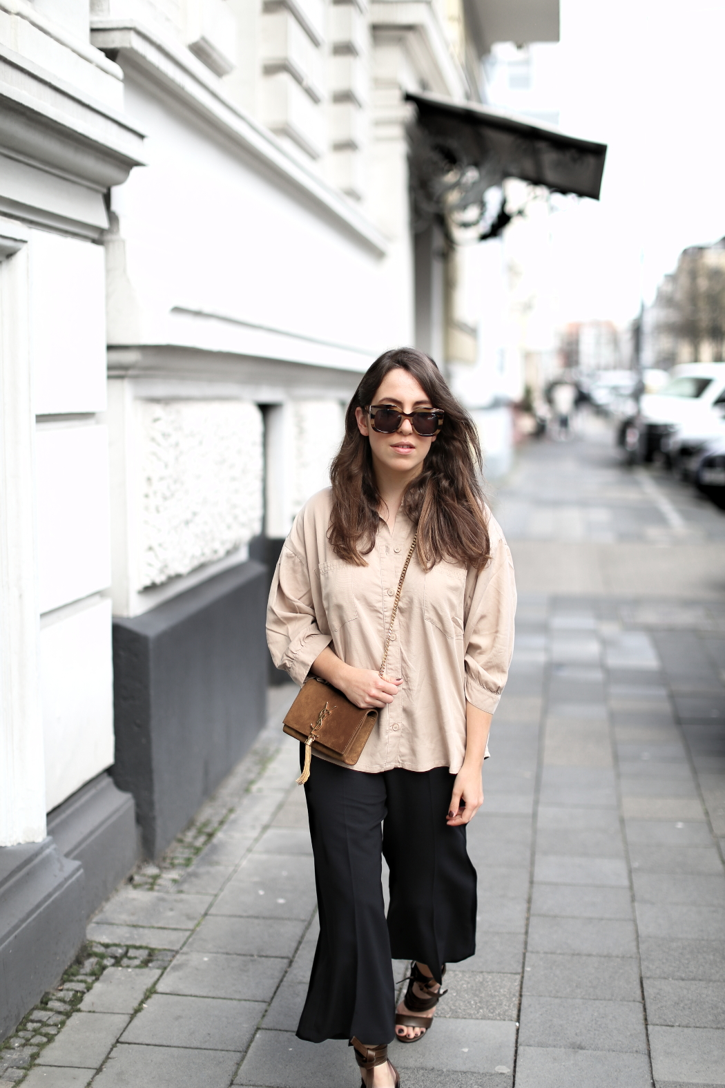 Slected Femme Blouse Spring Outfit