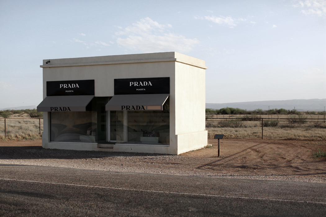 Prada Marfa Store Texas Travel