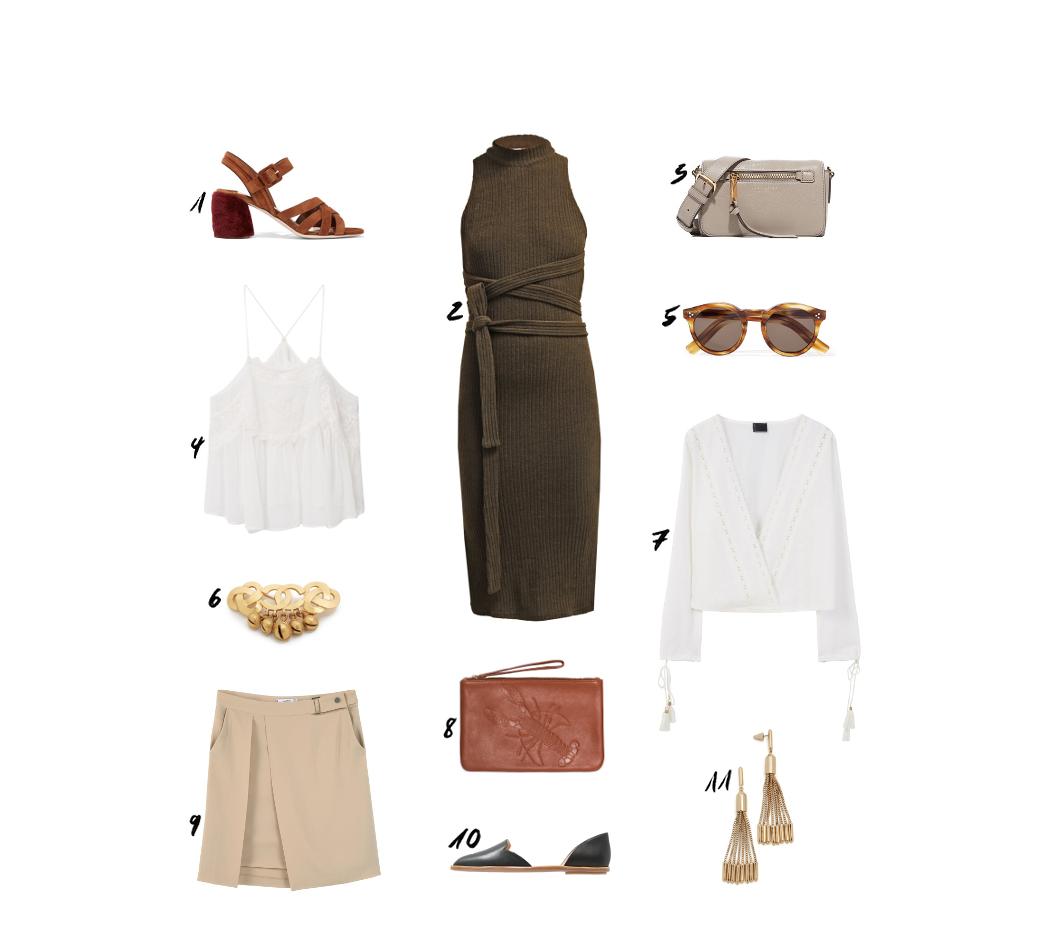 Miu Miu Suede Sandals Summer Outfit
