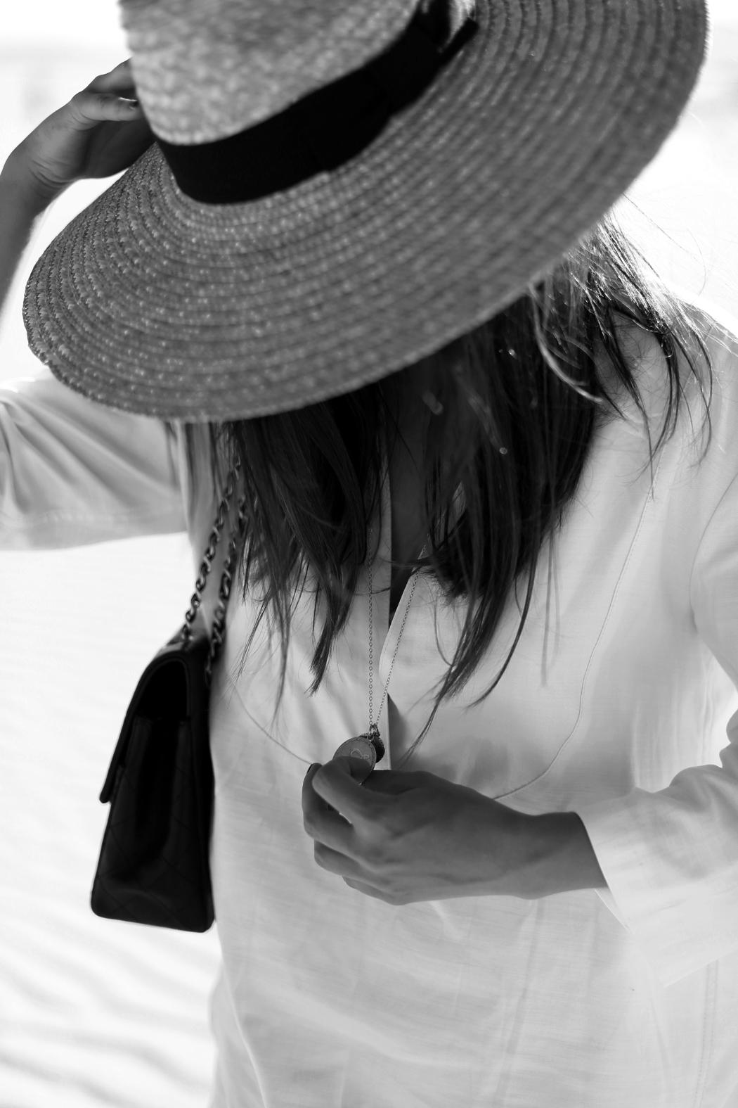 Filippa K White Dress Outfit