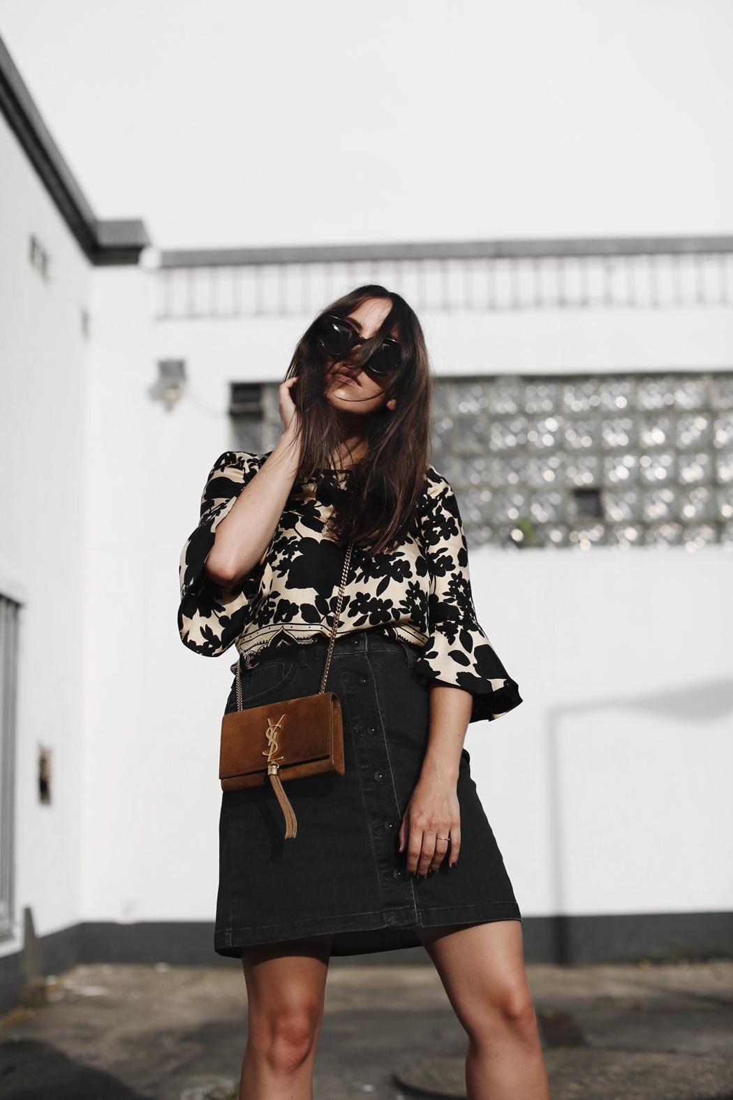 The Dashing Rider Chloé Blouse Saint Laurent Outfit