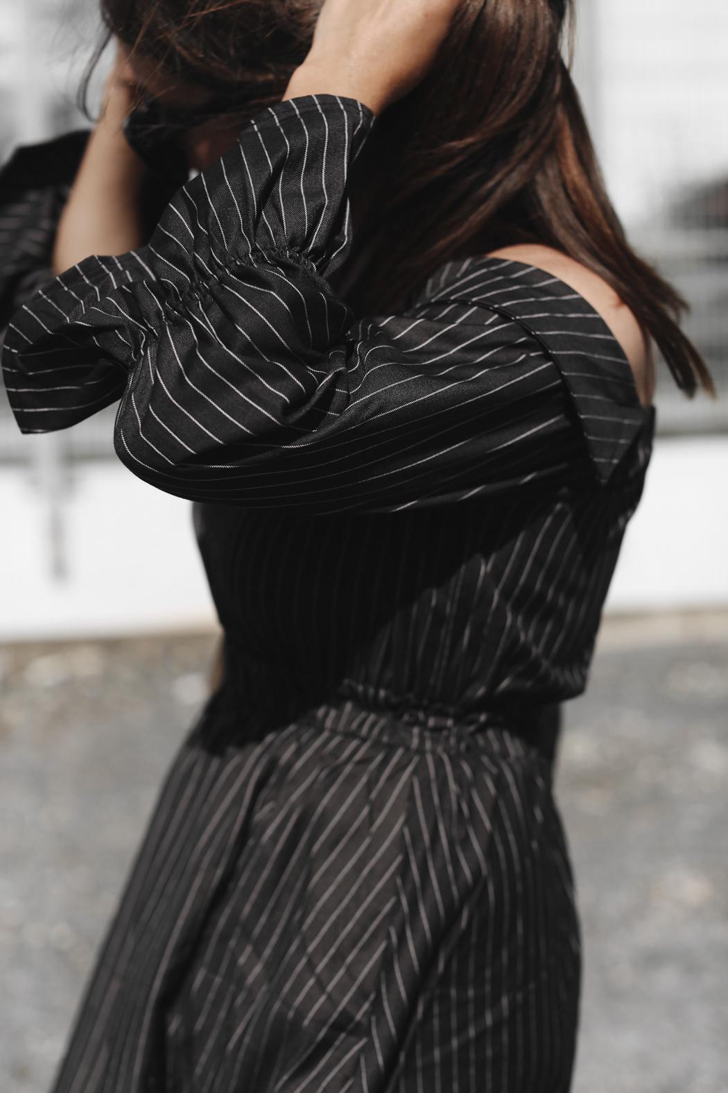 The Dashing Rider Pinstripe Dress