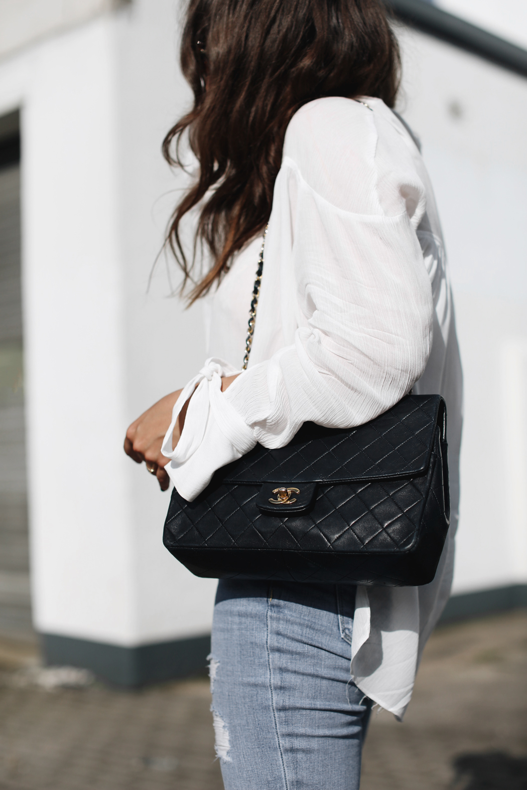 The Dashing Rider Chanel Bag Outfit