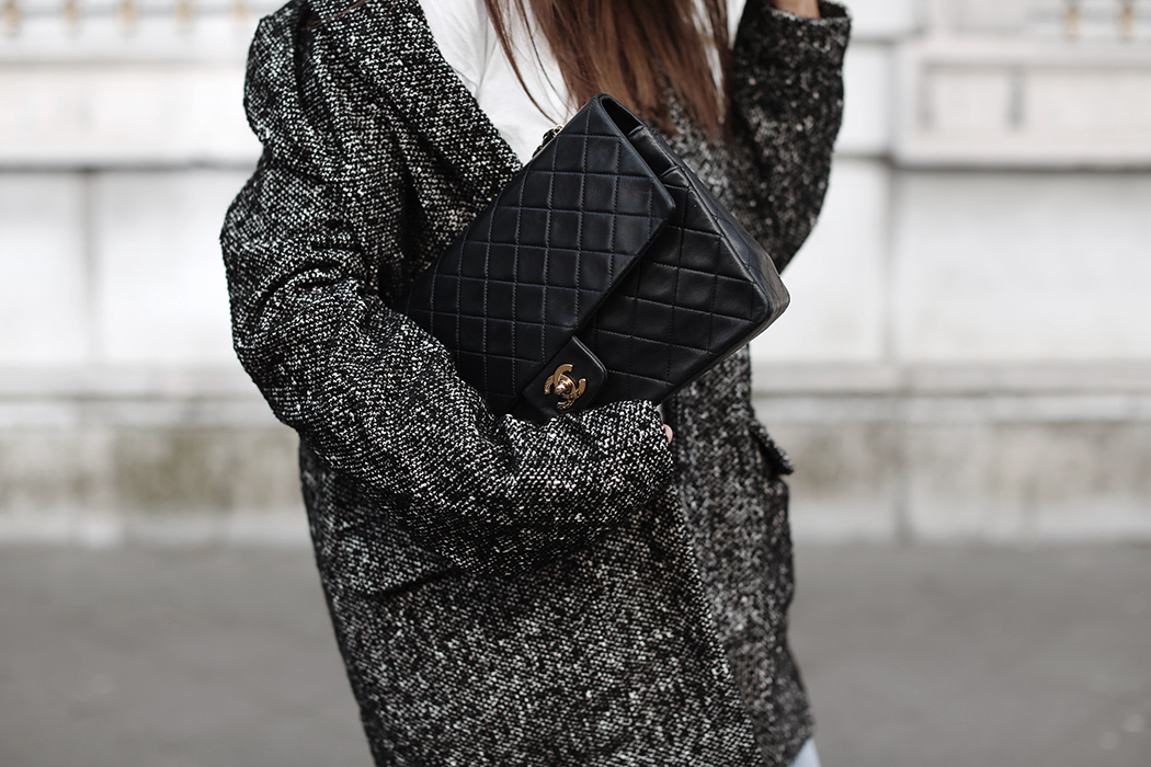 The Dashing Rider Edited Blazer & Chanel Bag
