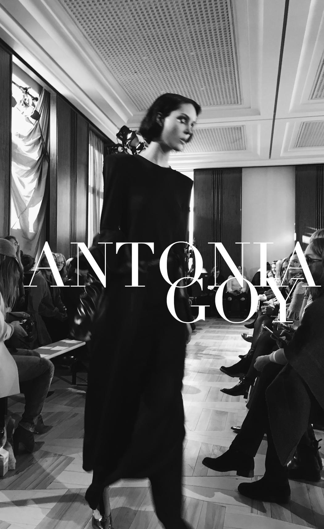 The Dashing Rider Mercedes Benz Fashion Week January 2017 Antonia Goy