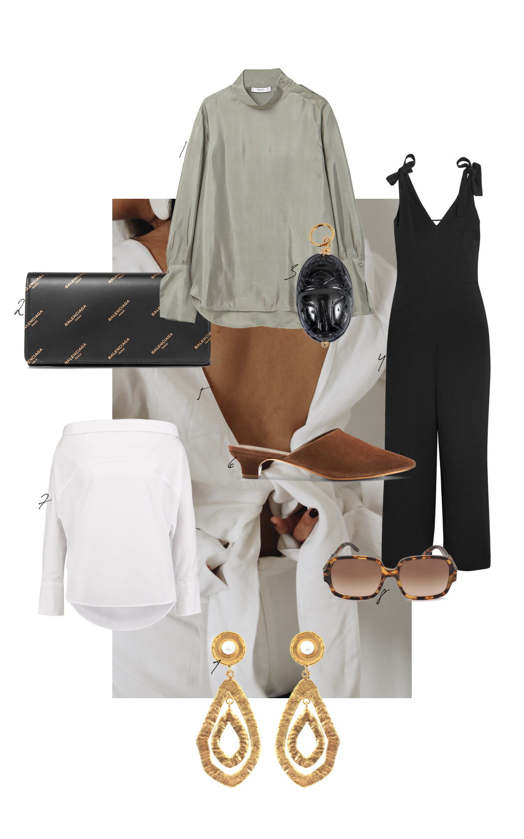 The Dashing Rider How to style a white jumpsuit