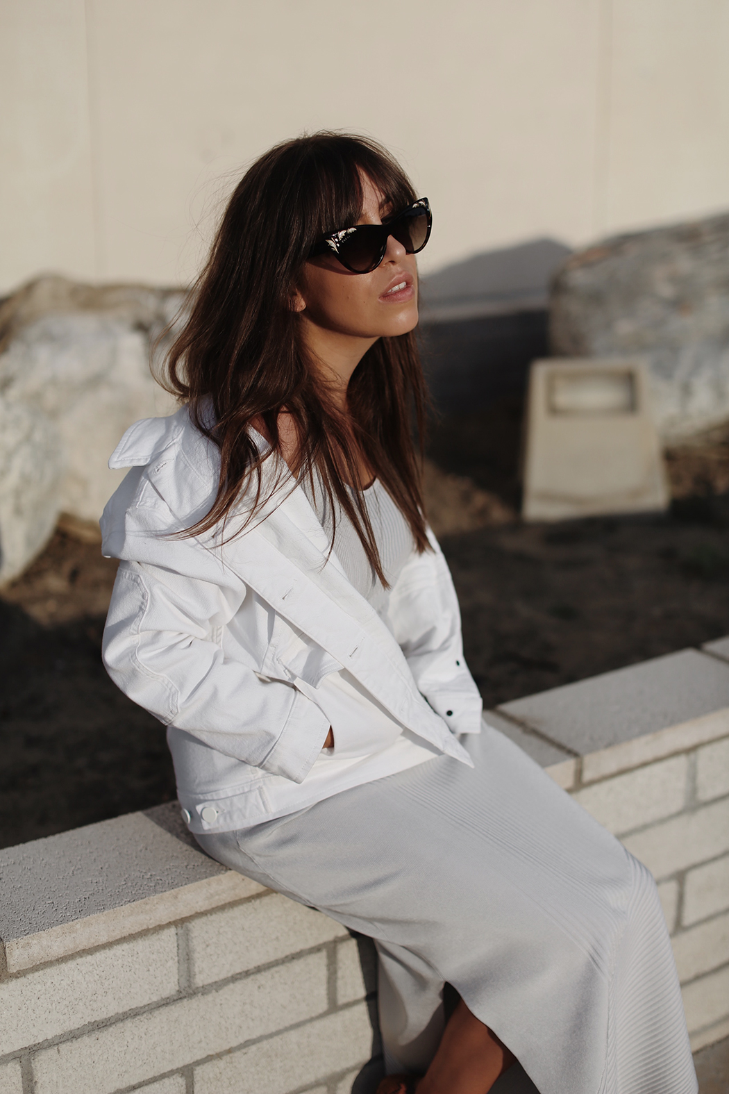 The Dashing Rider - In Palm Springs with Filippa K