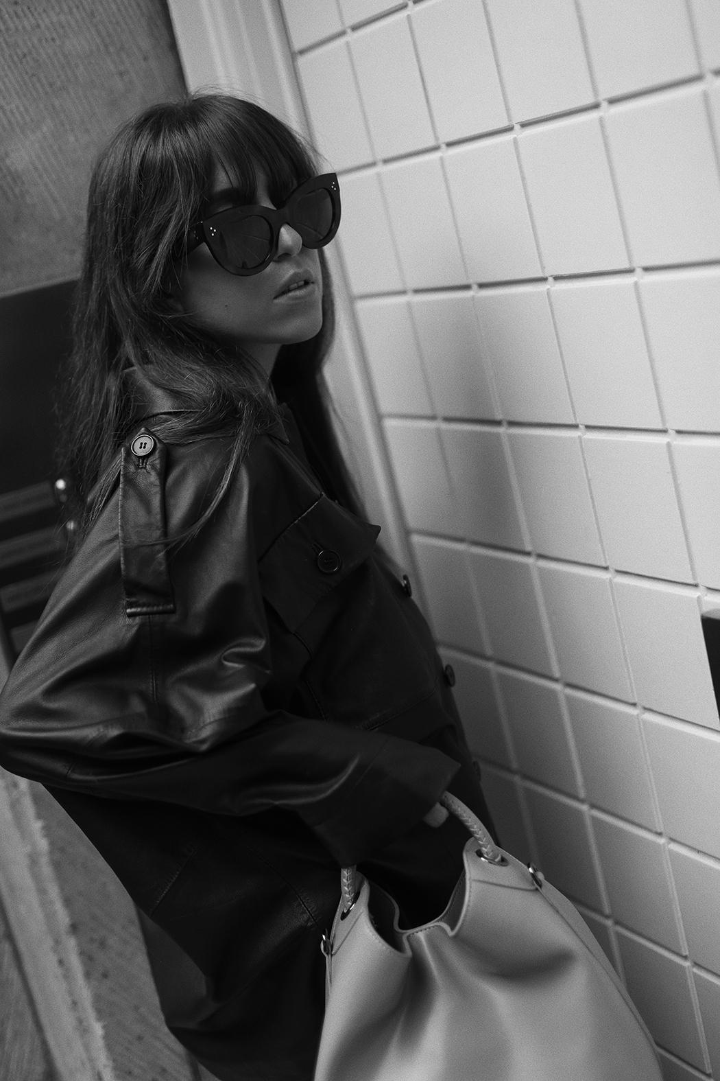 The Dashing Rider Black SET Leather Jacket