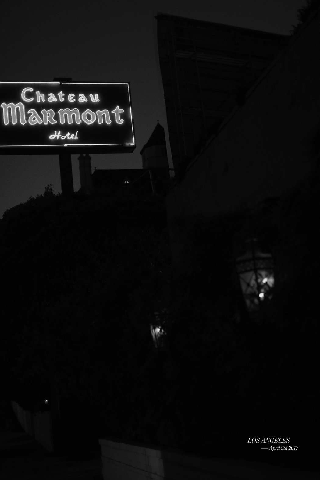 CHATEAU MARMONT - Hollywood, LOS ANGELES - Fiona Dinkelbach