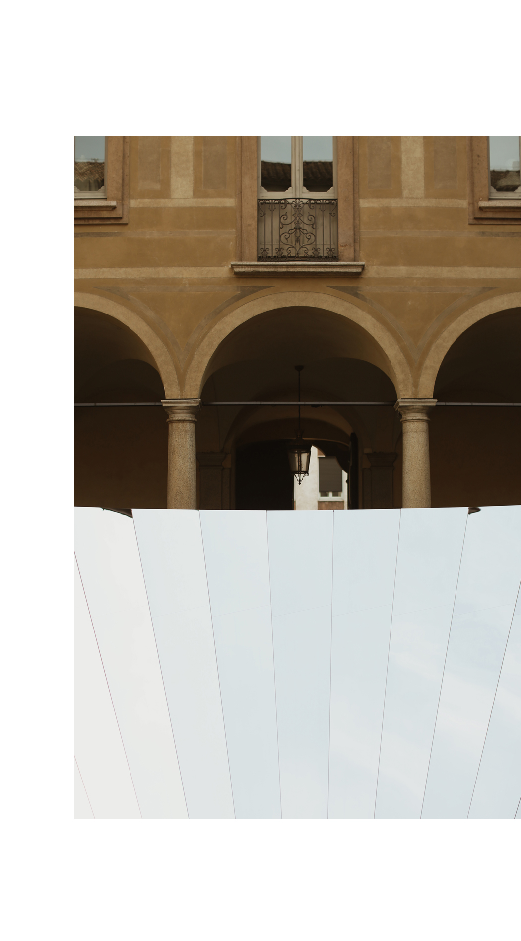 COS x PHILLIP K SMITH III Open Sky Palazzo Isimbardi Milan