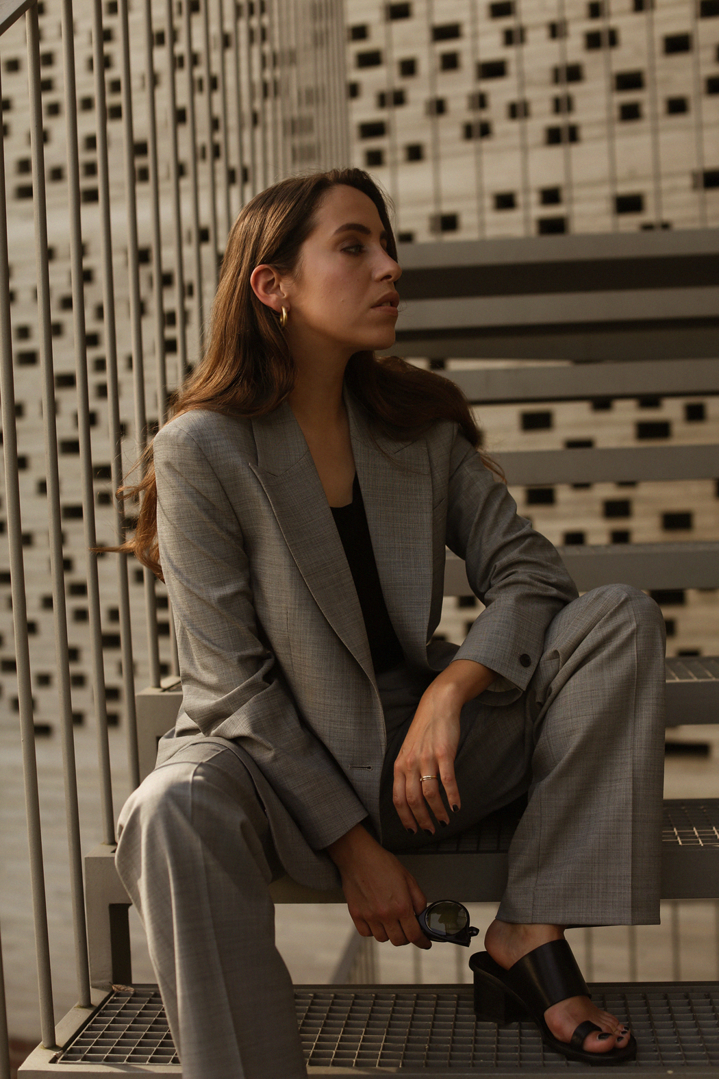 Filippa K Grey Suit - A visual story by Fiona Dinkelbach