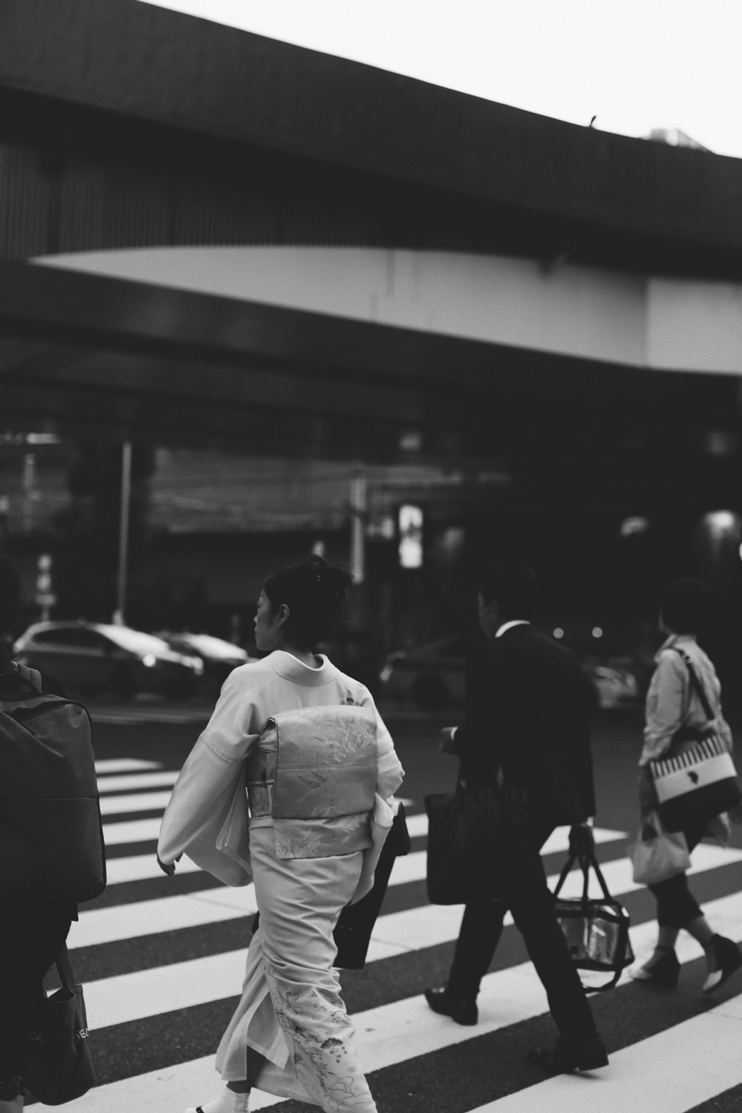 Tokyo: A Visual Diary in Black and White - by Fiona Dinkelbach