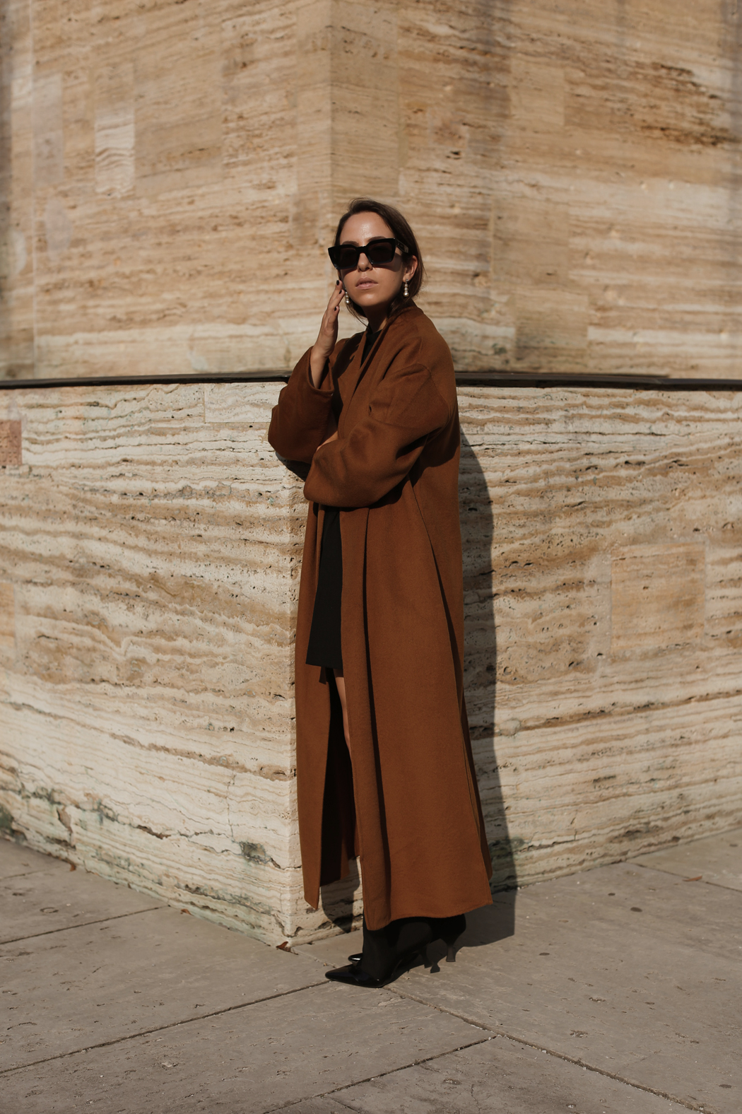 Outfit: The Brown And Other Stories Coat - by Fiona Dinkelbach