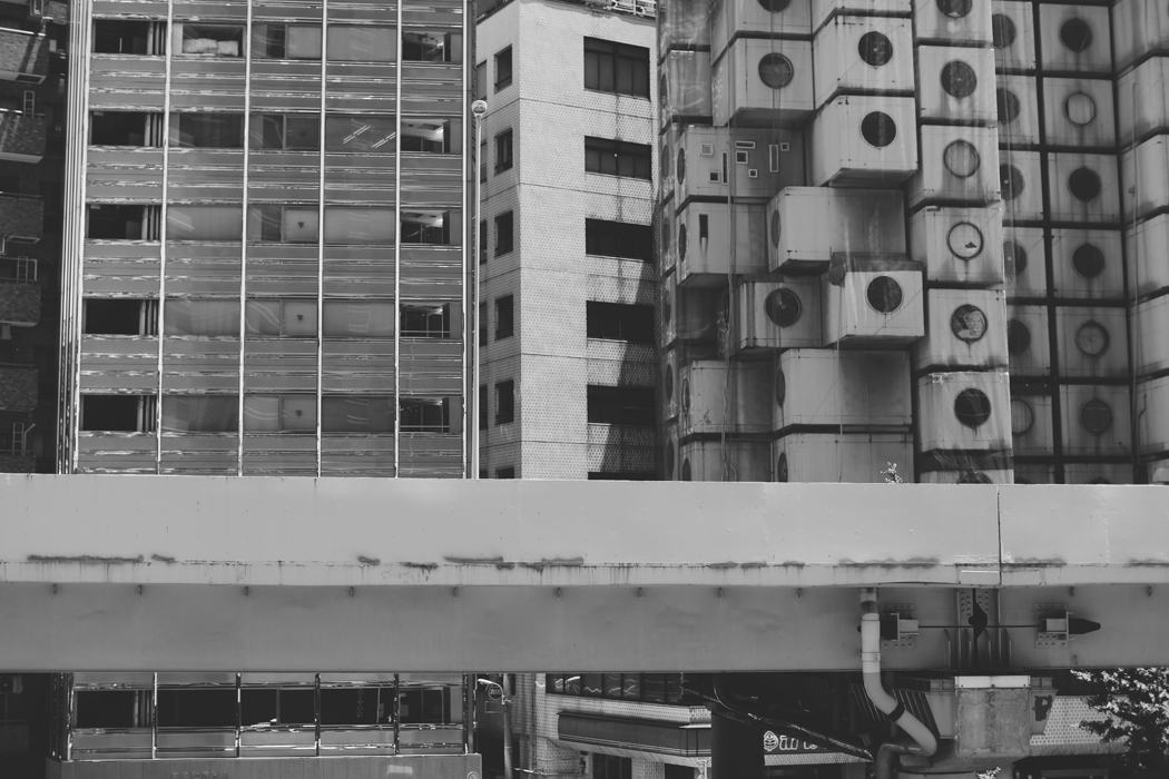 A visual Story: The Architecture Of Tokyo - Photography by Fiona Dinkelbach Nagakin Capsule Tower