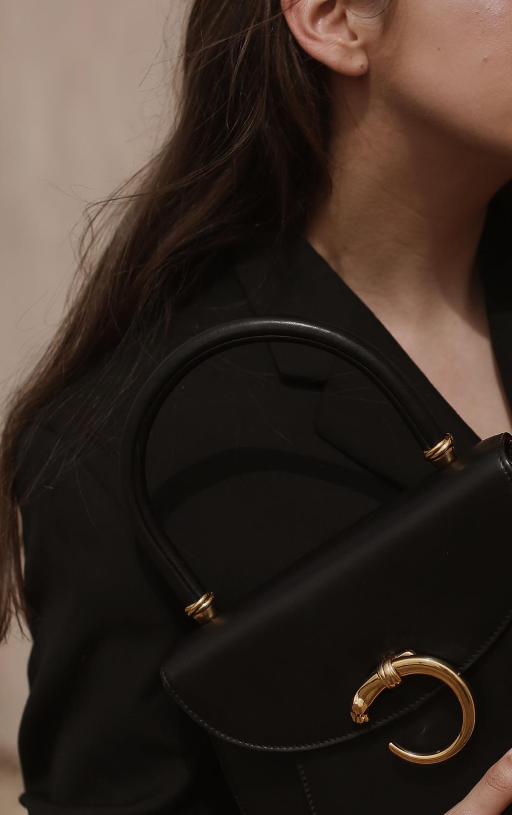 Editorial: Fiona Dinkelbach Vintage Cartier Panthere Bag