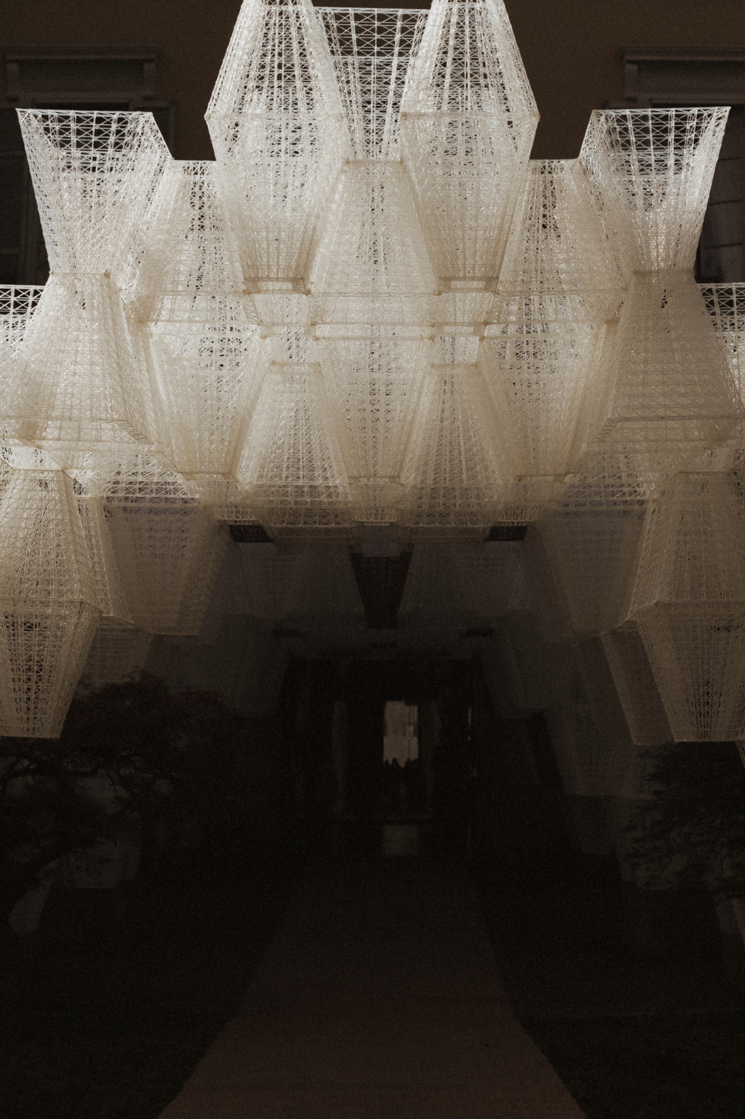 COS presents 'Conifera' - An Installation by Architect Mamou-Mani. By Fiona Dinkelbach